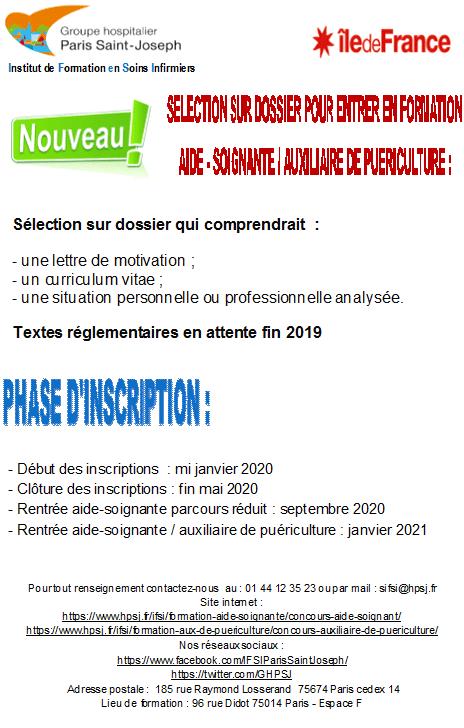 2019 Groupe Hospitalier Paris Saint Joseph